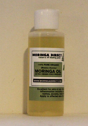 moringa oil 2oz single with label
